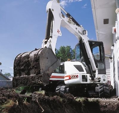 Bobcat 435 Excavator